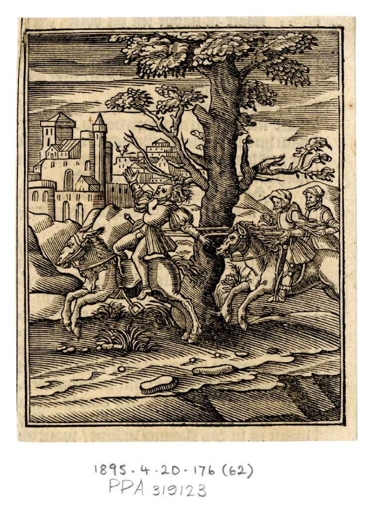Death of Absalom, cr. 1645, Christoffel van Sichem III, Netherlands