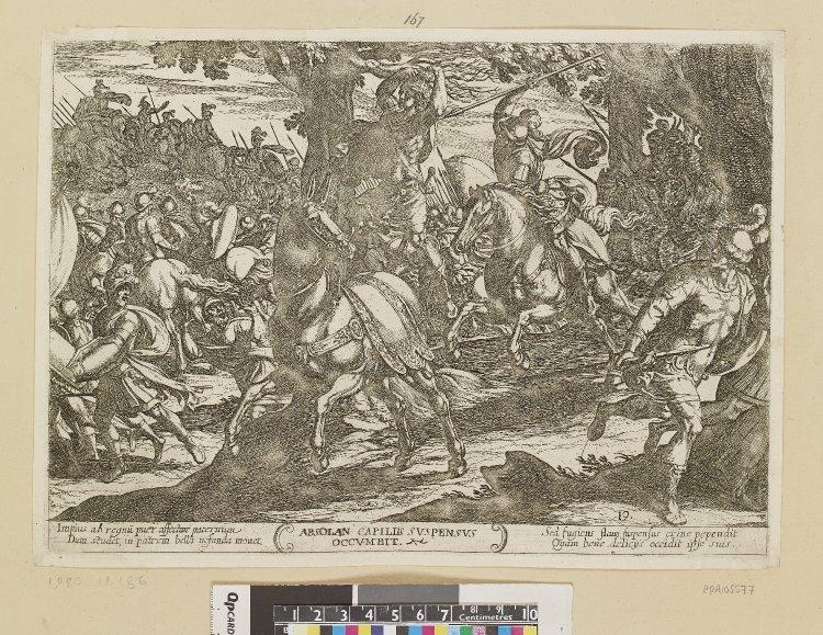 Death of Absalom, 1613, Antonio Tempesta, Rome, Italy