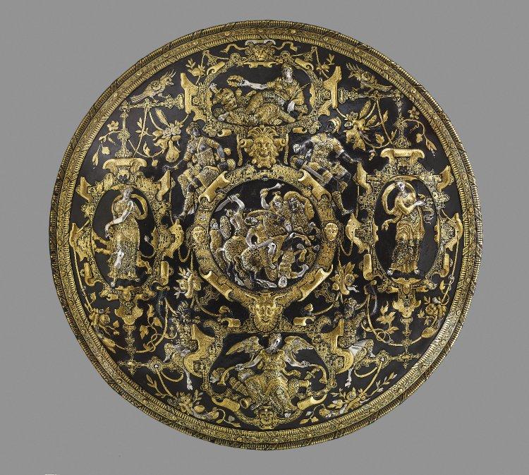 Ghisi Shield, 1554, Giorgio Ghisi, Mantua (?), Italy