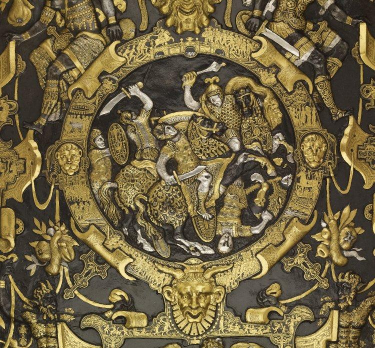 Ghisi Shield (detail), 1554, Giorgio Ghisi, Mantua (?), Italy