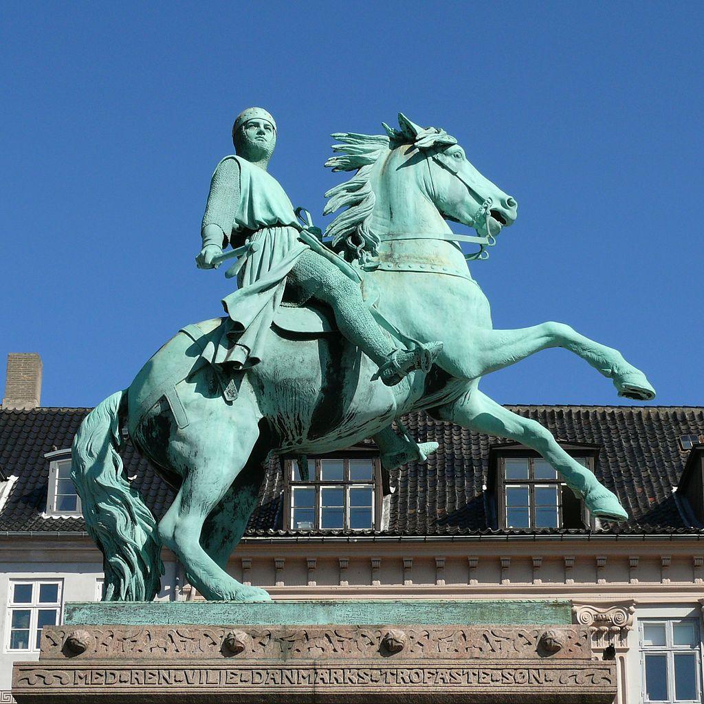 Statue of Absalon, 1902, Vilhelm Bissen, Copenhagen, Denmark