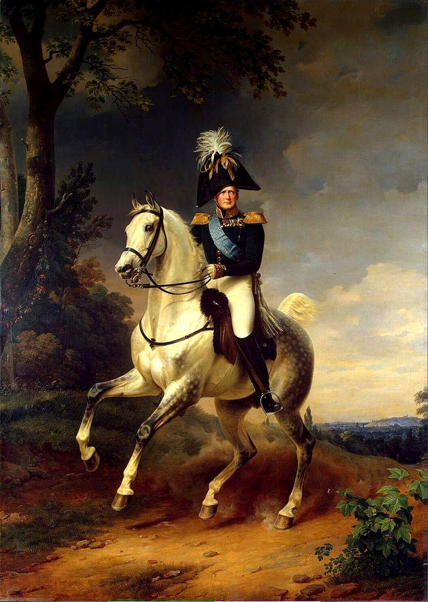 Portrait of Alexander I of Russia, 1837, Franz Kruger