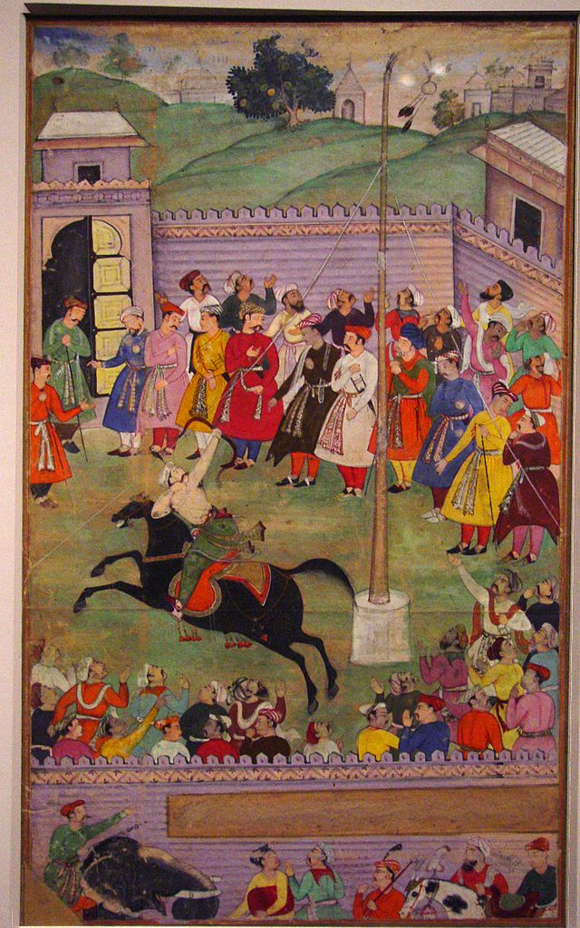 Archery Competition, cr. 1600, Mughal Empire