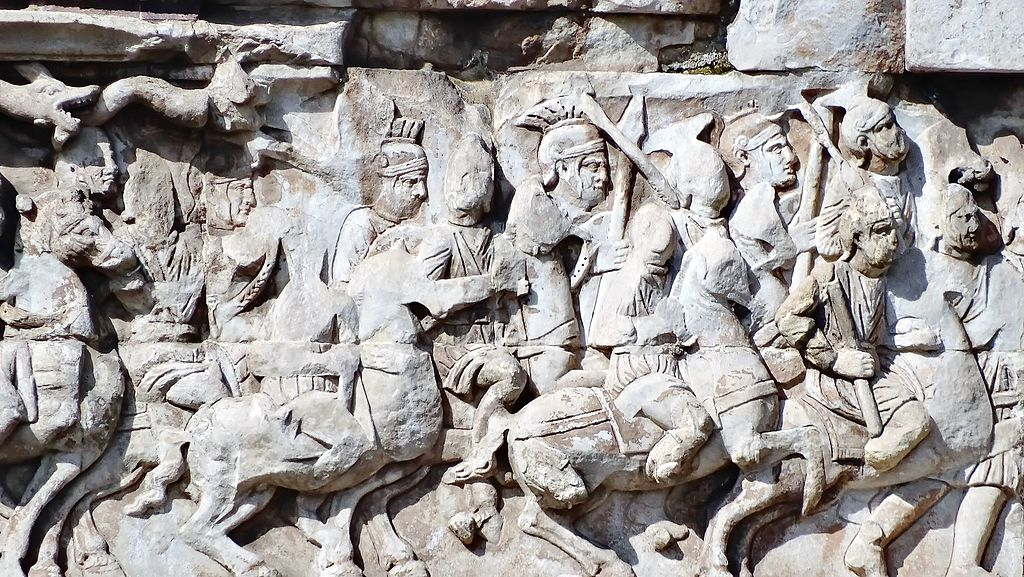 Arch of Constantine (detail), 315, Rome