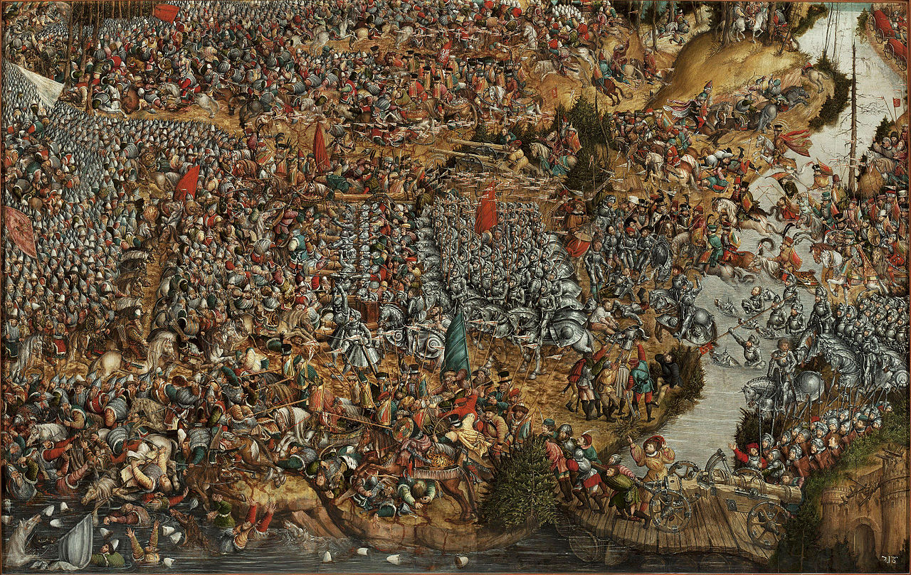 Battle of Orsha (1514), cr. 1524-30, Hans Krell, Germany