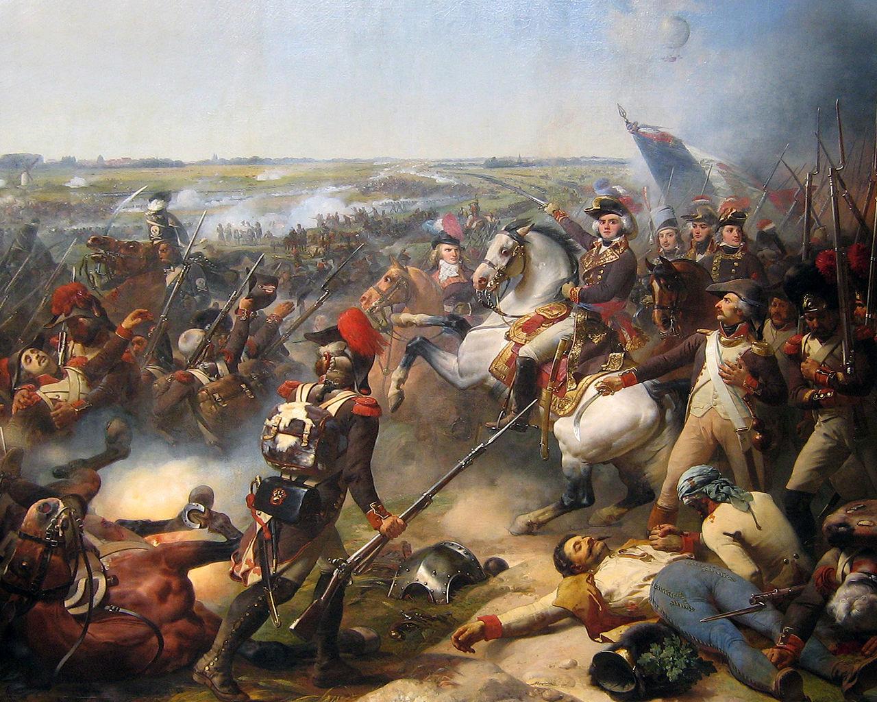 Battle of Fleurus (1794), 1837, Jean-Baptiste Mauzaisse, Galerie des Batailles, Versailles, France
