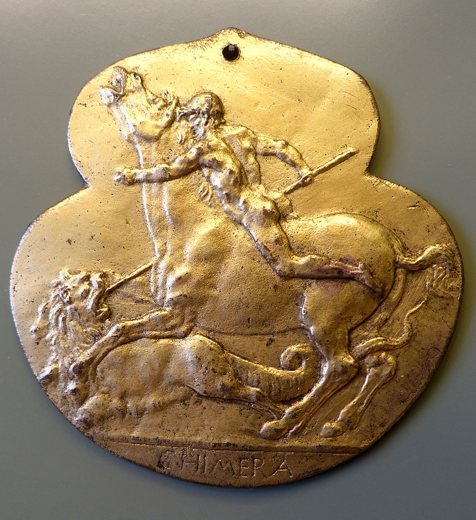 Plaquette with Bellerophon and the Chimera, cr. 1475-80, Francesco di Giorgio, Siena (Italy)