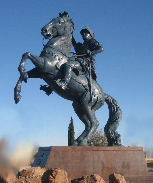 Statue of Don Juan de Onate Salazar,2006, El Paso, Texas