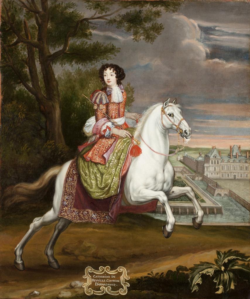 Catherine de Neufville d'Harcourt-Armagnac