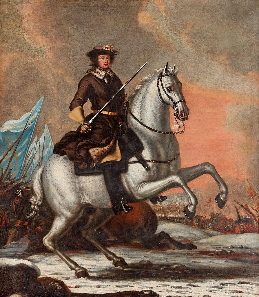 Karl XI of Sweden,1676, David Klöcker Ehrenstrahl (?)