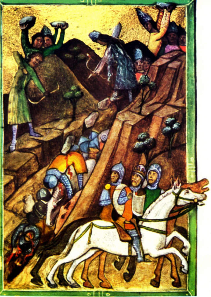 The battle of Posada (1330), 1350-73, Chronicon Pictum, Kingdom of Hungary