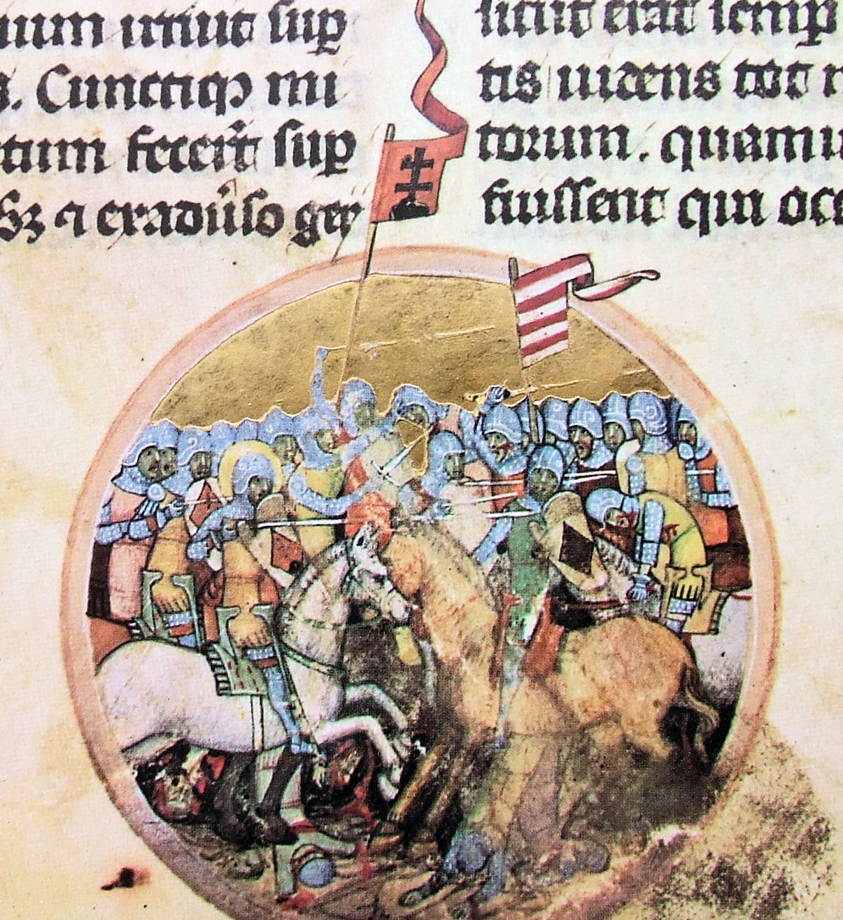 The battle of Mogyoród (1074), 1350-73, Chronicon Pictum, Kingdom of Hungary