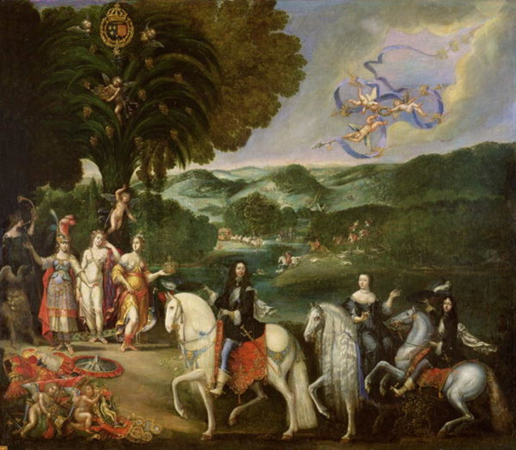 Allegory of the Peace Treaty of the Pyrenees, 1659, Claude Deruet, France