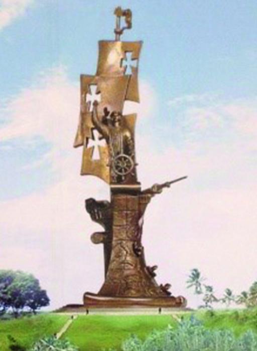 Columbus statue,1992, Zurab Tsereteli