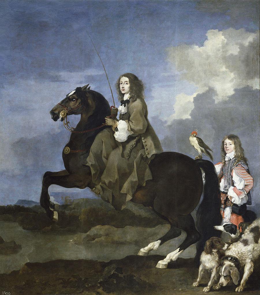 Christina of Sweden,1653, Sébastien Bourdon