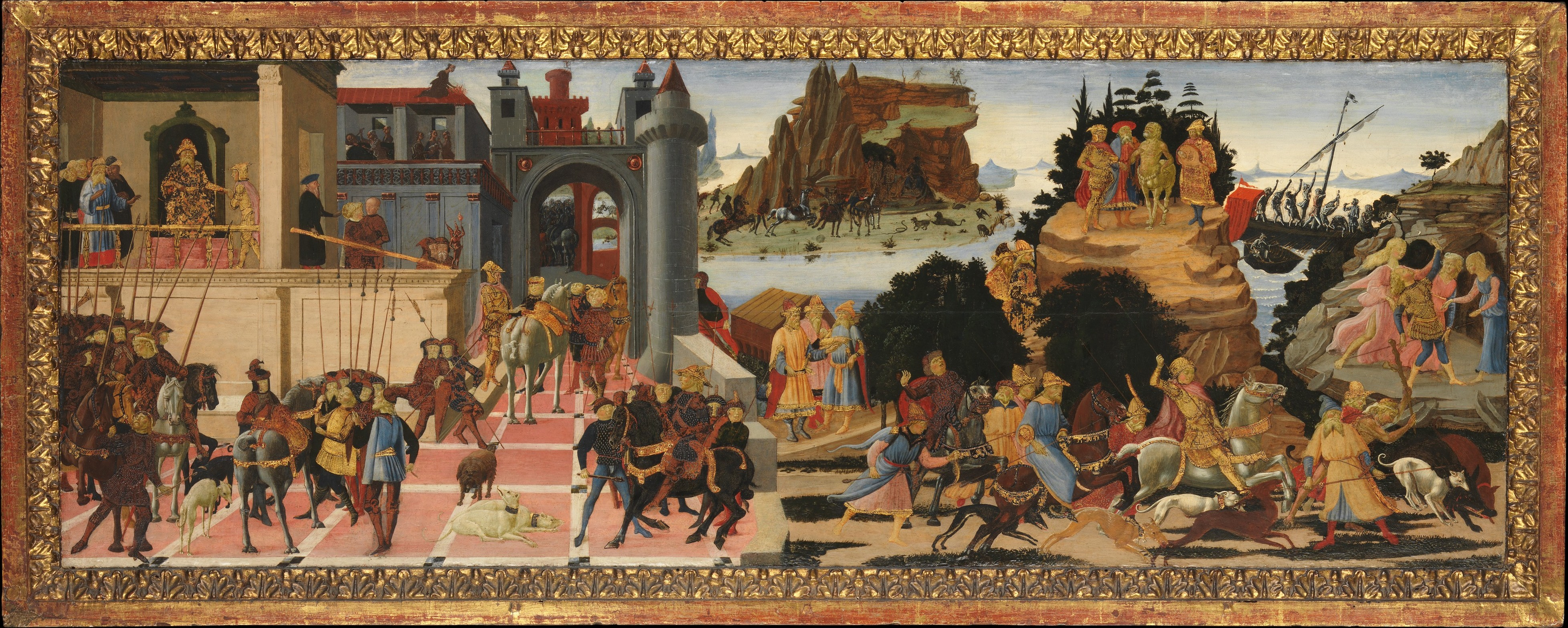 Scenes from the Story of the Argonauts, cr. 1465, Biagio di Antonio and Jacopo del Sellaio