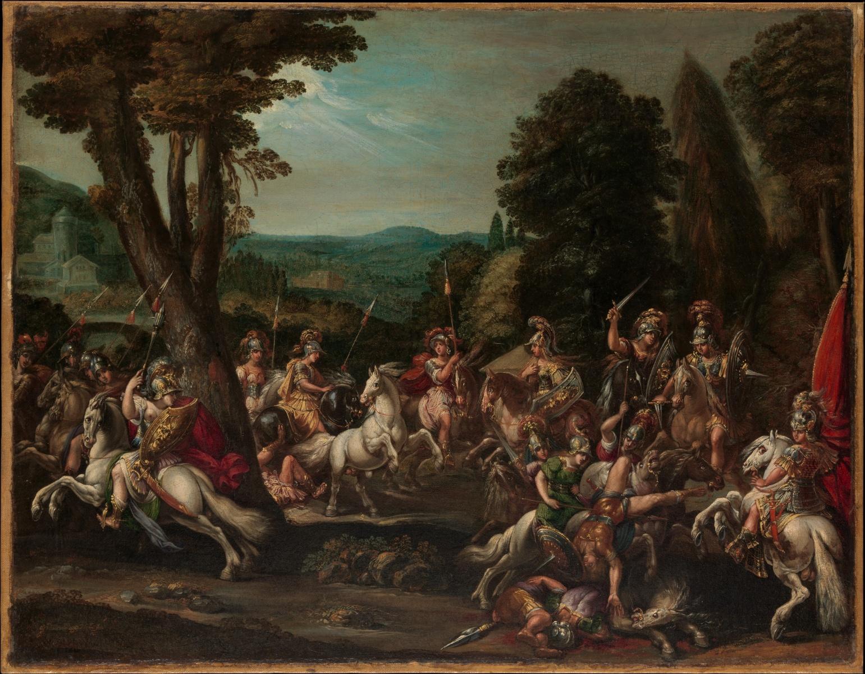 Triumph of the Amazons, 1620s, Claude Deruet, Nancy, France