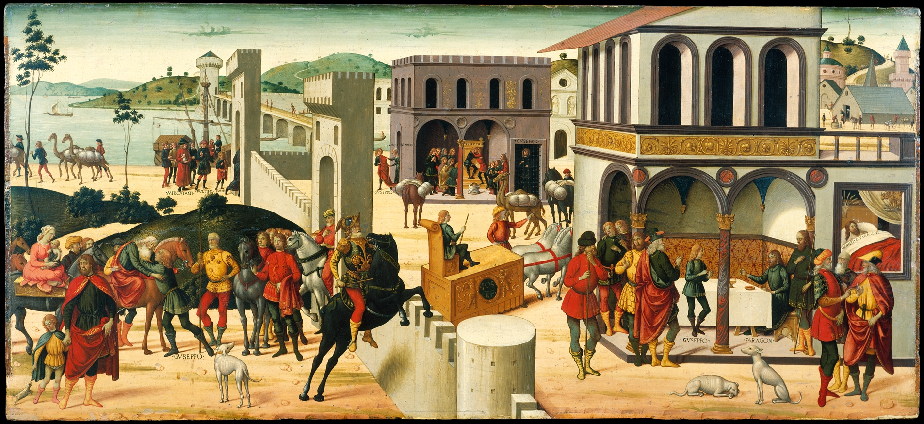 The Story of Joseph,cr. 1482, Biagio d'Antonio
