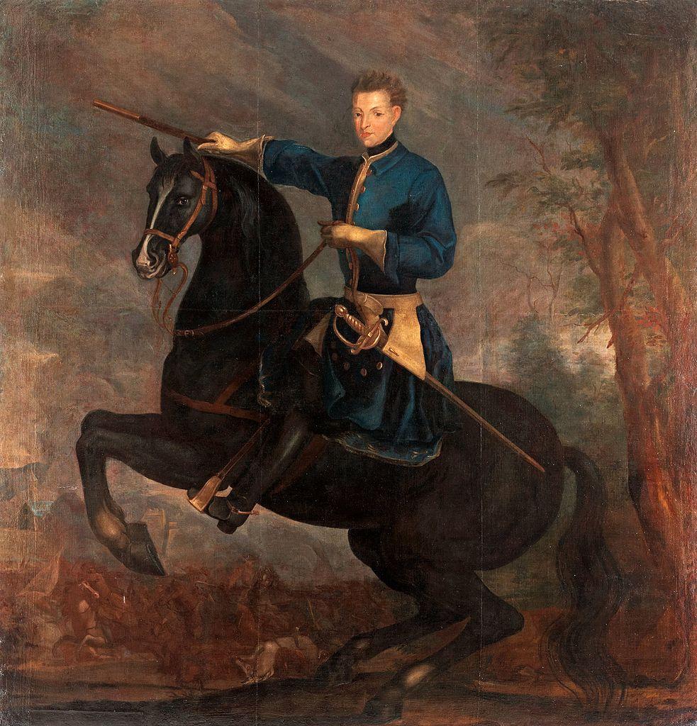 King Karl XII of Sweden,?, David von Krafft