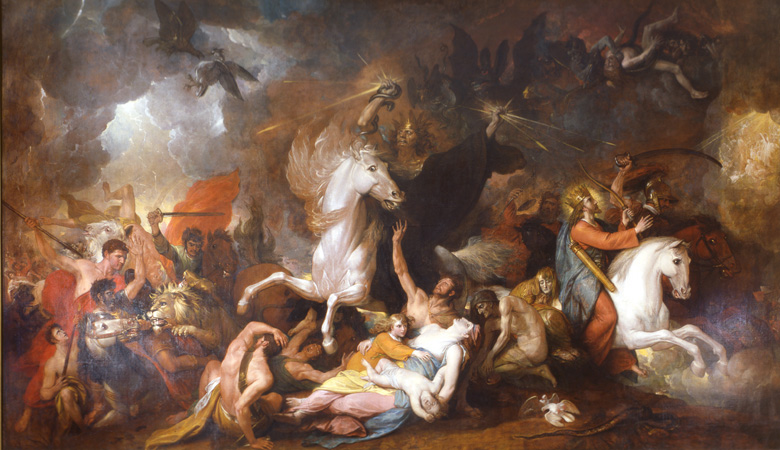 Death on the Pale Horse, 1817, Benjamin West, England (artist born in the U.S.A.)