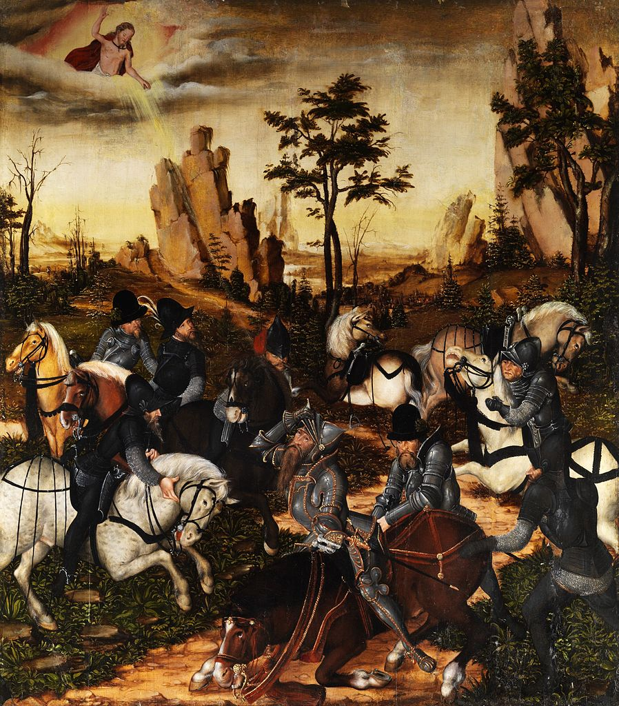The Conversion of Saint Paul, cr. 1547-9, Lucas Cranach the Younger, Germany
