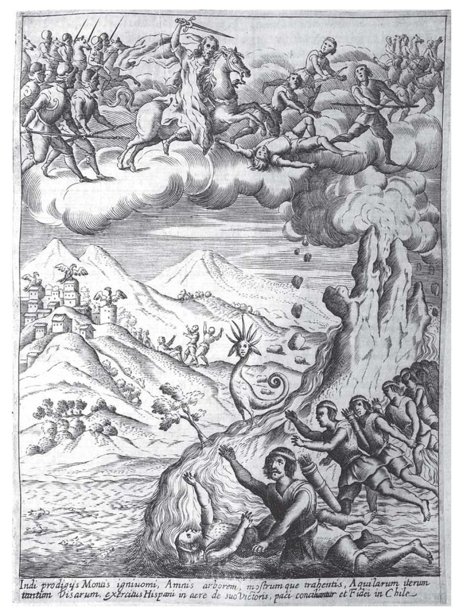 Allegory Of Santiago In The History Of Chile (1646-1649), ?, Alonso de Ovalle, Chile