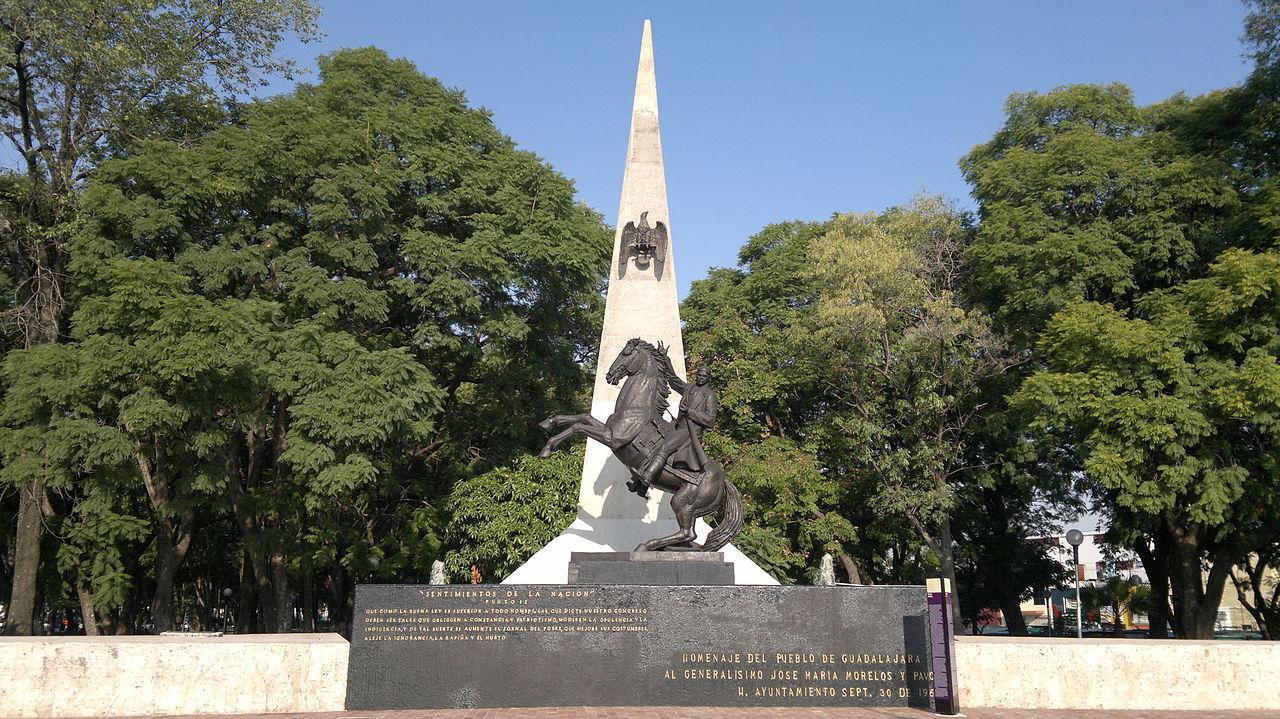 Statue of José María Morelos, ?, Morelos Park, La Mesa, Baja California, Mexico