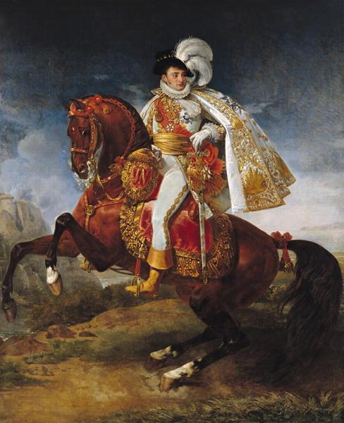 Portrait of Jérôme Bonaparte, cr. 1808, Antoine-Jean Gros