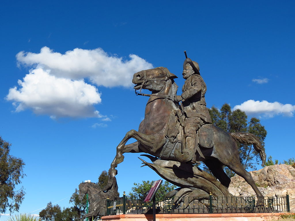 Statue of Pancho Villa, ?, Bufa Hill, Zacatecas, Mexico