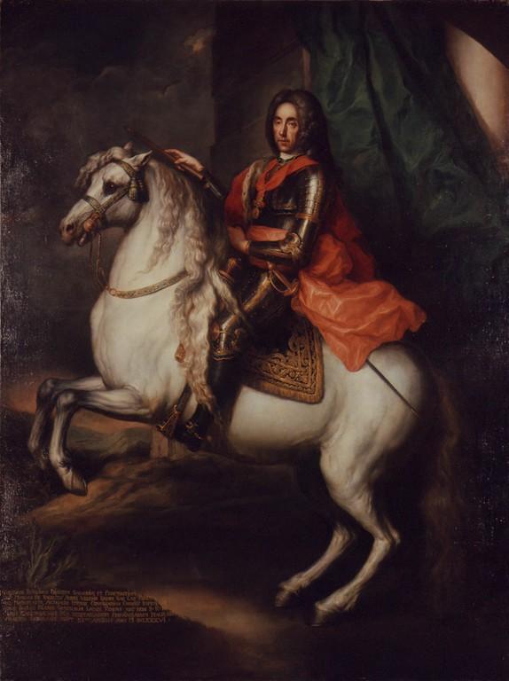 Portrait of Prince Eugene of Savoy,cr. 1725, unknown painter (Johann Gottfried Auerbach?)