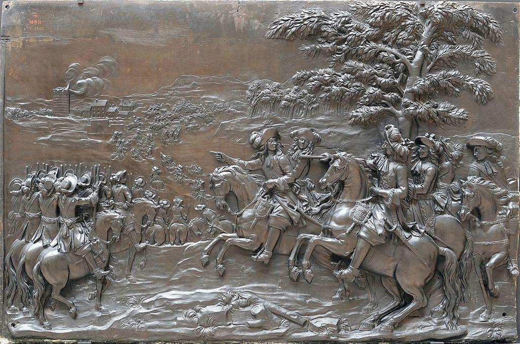 Crossing the Rhine, 16 June 1672,1681-1685, Martin Desjardins