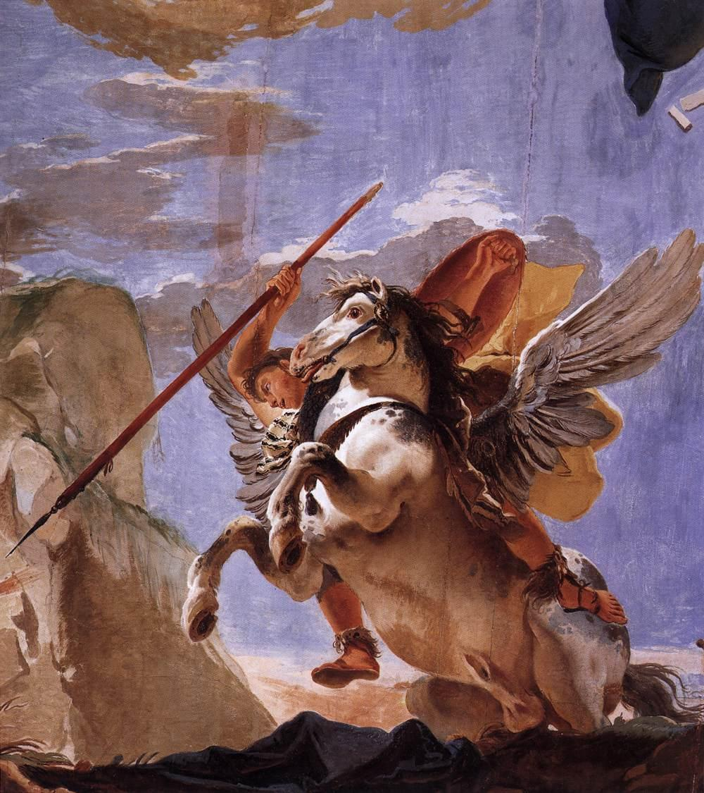 The Force of Eloquence, cr. 1723, Giovanni Battista Tiepolo, Venice, Italy