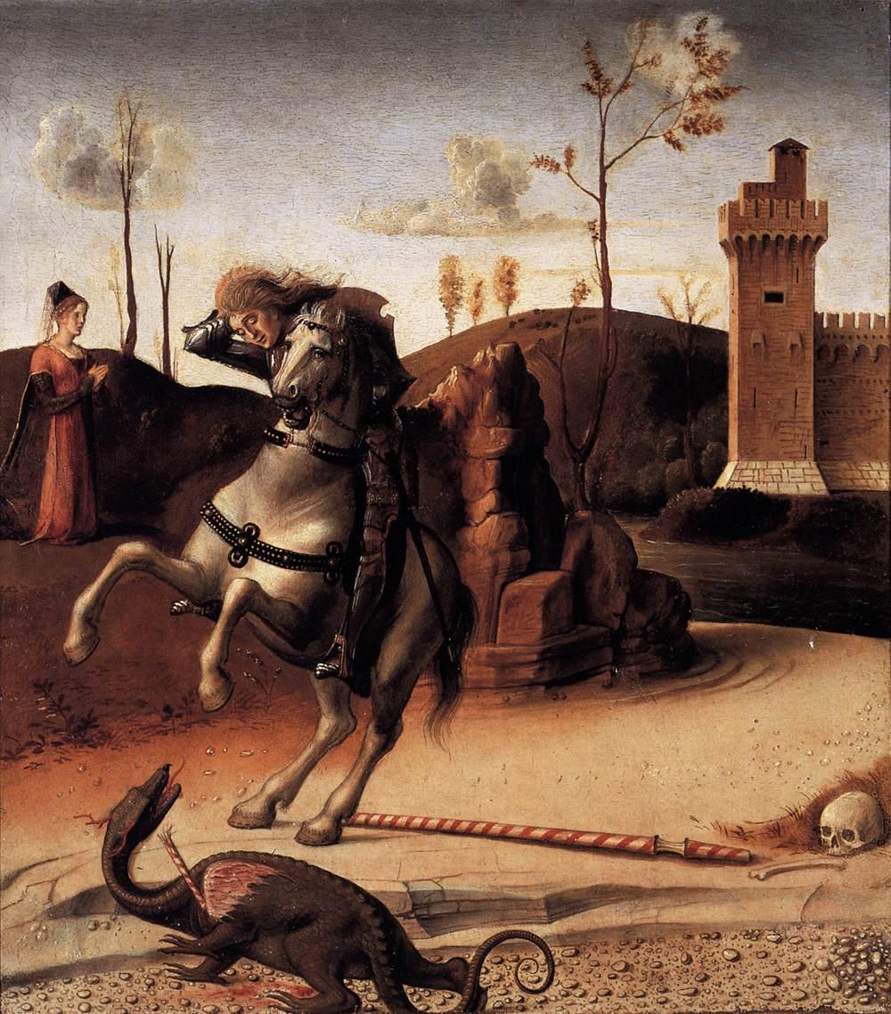 Pesaro Altarpiece (predella), 1471-4, Giovanni Bellini, Venice