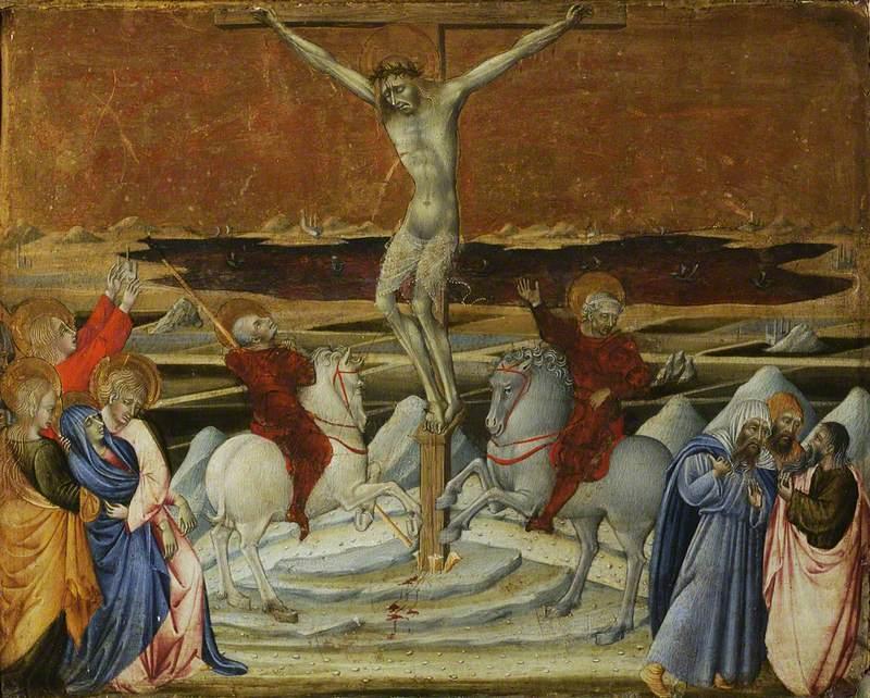 Calvary, cr. 1450, Giovanni di Paolo di Grazia, Siena, Italy