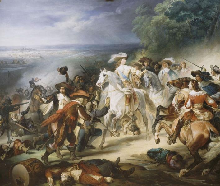 Battle of Rocroi (1643), cr. 1834, François Joseph Heim, Galerie des Batailles, Versailles, France