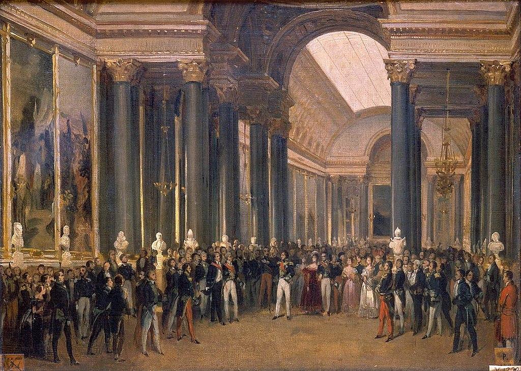 Louis-Philippe Opening the Galerie des Batailles (1837), 1837, François Joseph Heim, Versailles, France