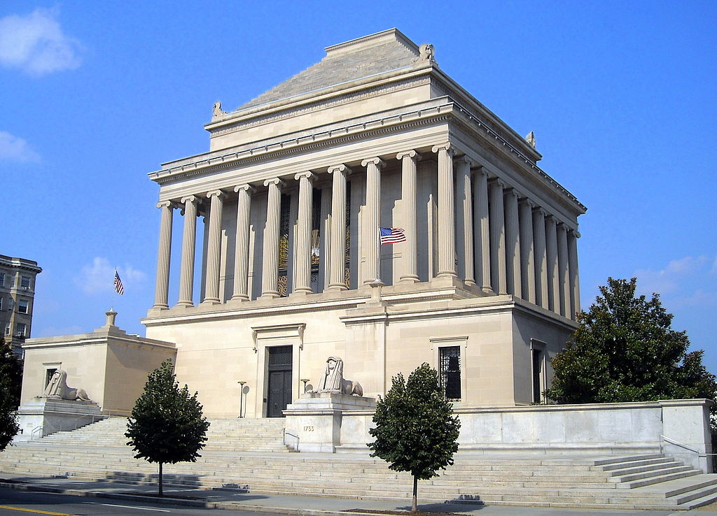 House of the Temple, design based on the Mausoleum at Halicarnassus, 1911-5, Washington, D.C., U.S.A.