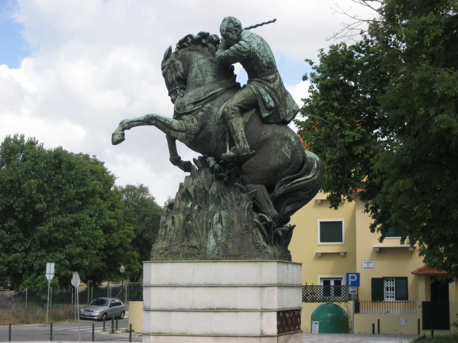 Statue of João Maria Ferreira do Amaral, 1935, Maximiano Alves, Portugal