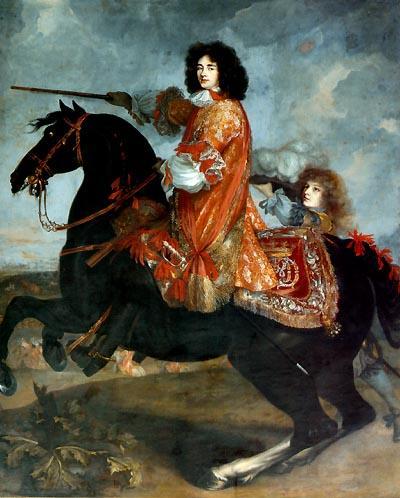 Equestrian portrait of James Scott, 1st Duke of Monmouth (1649-1685),17th century, Unknown