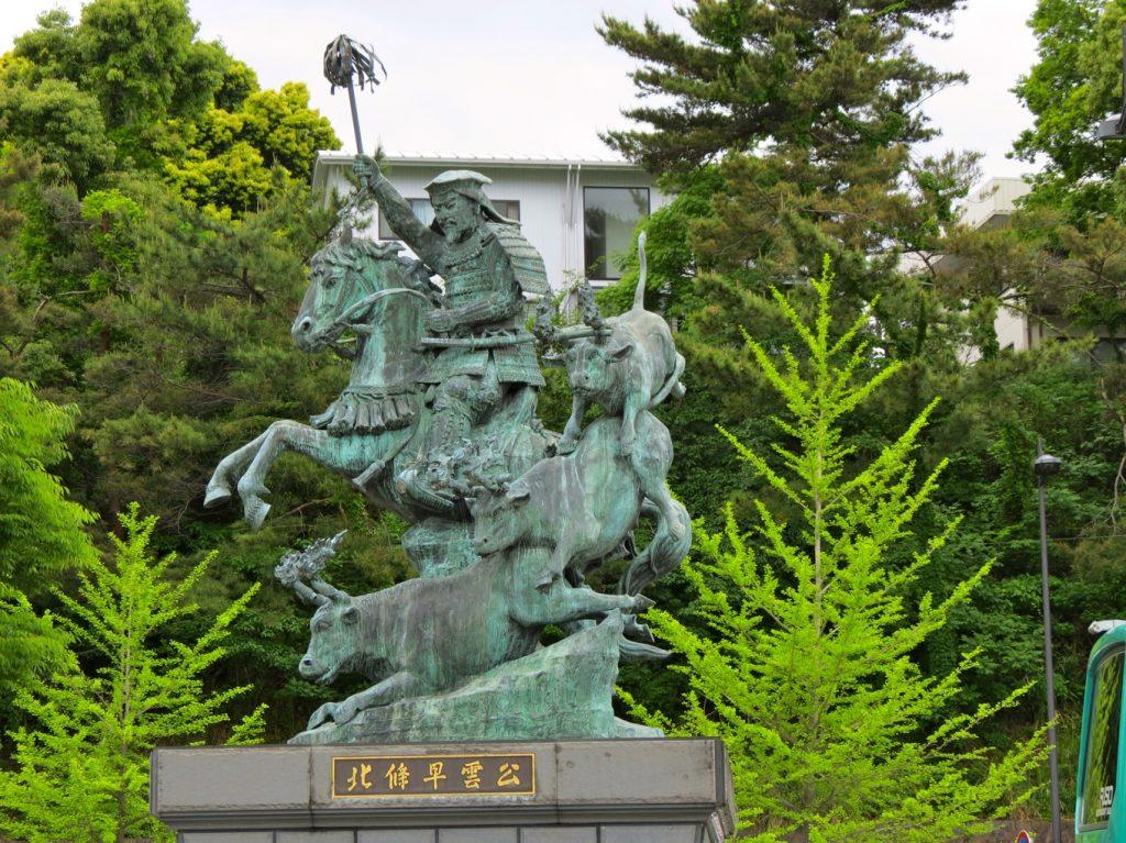 Equestrian Statue of Hojó Soun,?, Odawara, Japan