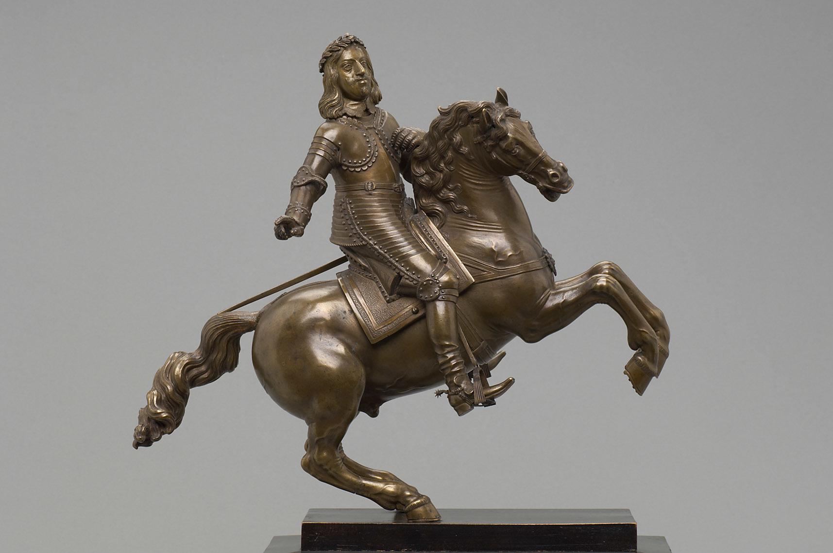 Emperor Ferdinand III on horseback, 1630-1674, Caspar Gras