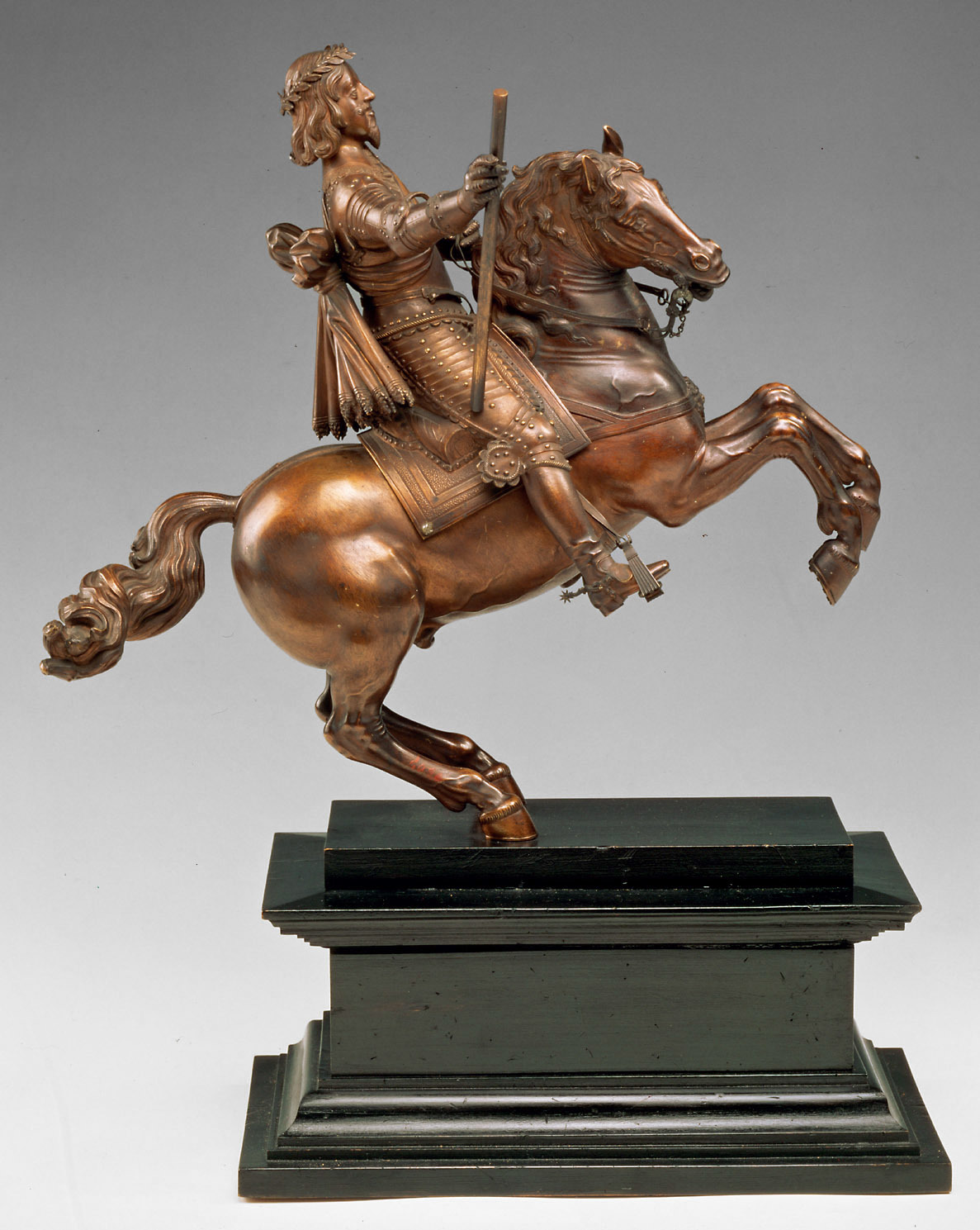 Emperor Ferdinand III on horseback, 2nd quarter of the 17th century, Caspar Gras