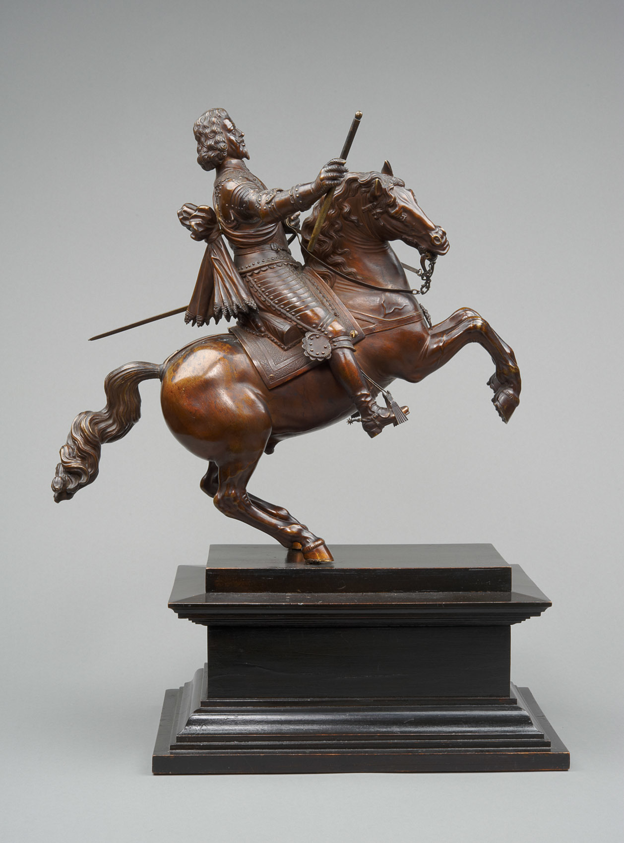 Emperor Ferdinand II on horseback, 2nd quarter of the 17th century, Caspar Gras