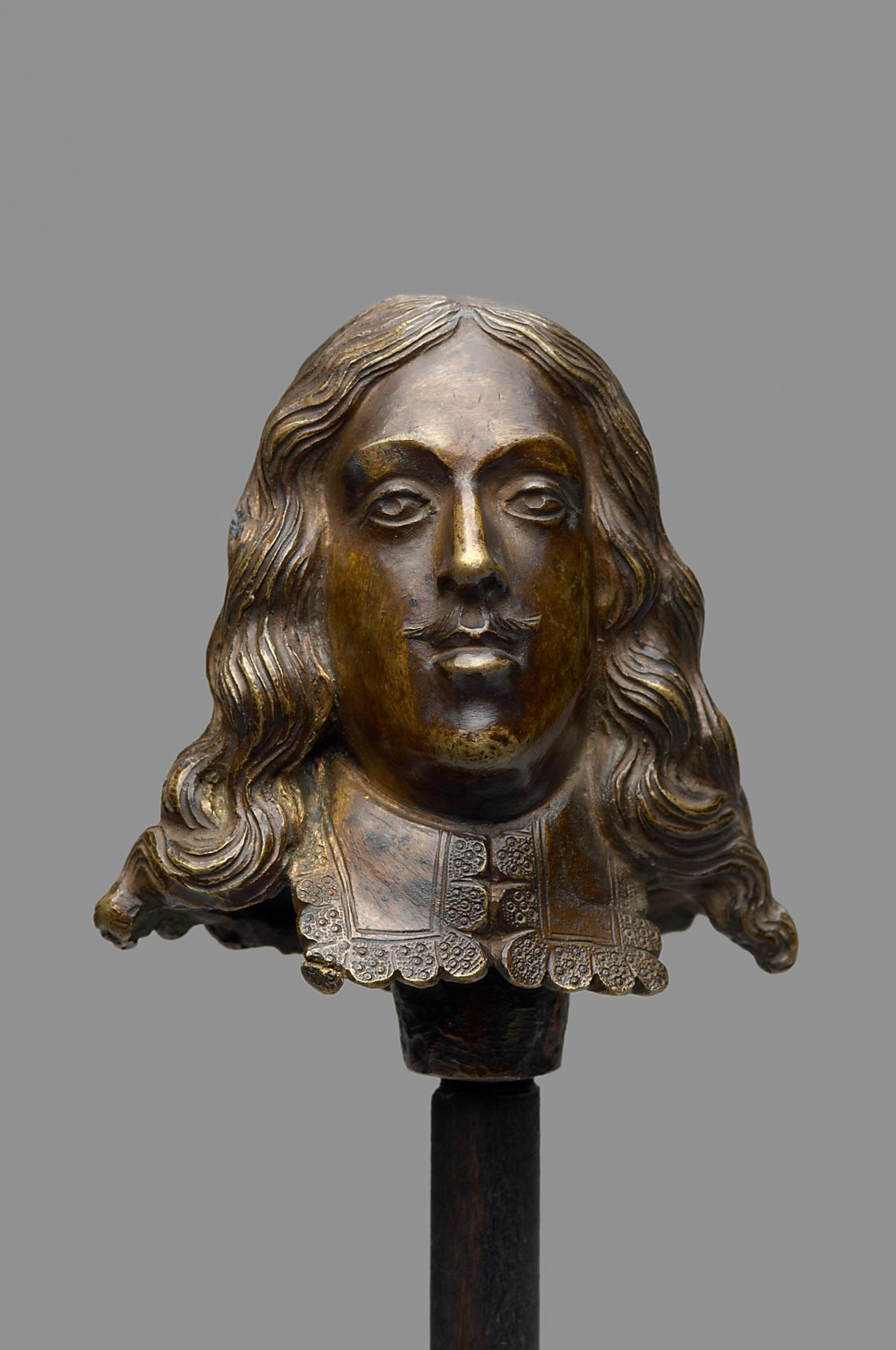 Replaceable head (Archduke Ferdinand Karl or Archduke Sigismund Franz), 2nd quarter of the 17th century, Caspar Gras