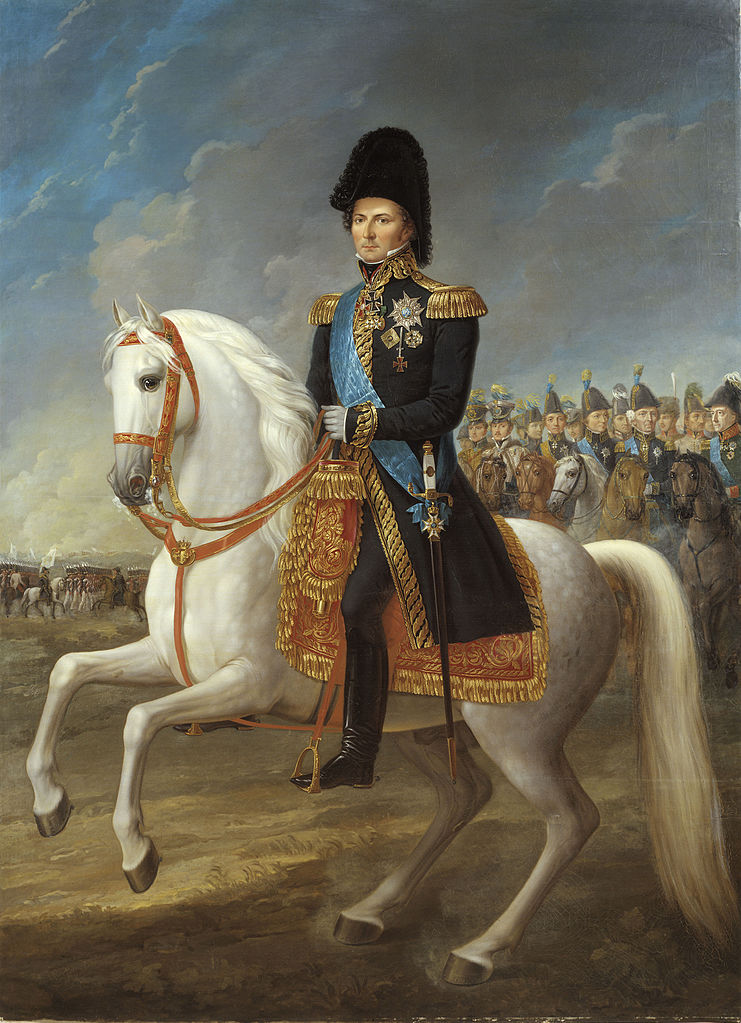 Karl XIV Johan, king of Sweden and Norway,1818-44, Fredric Westin