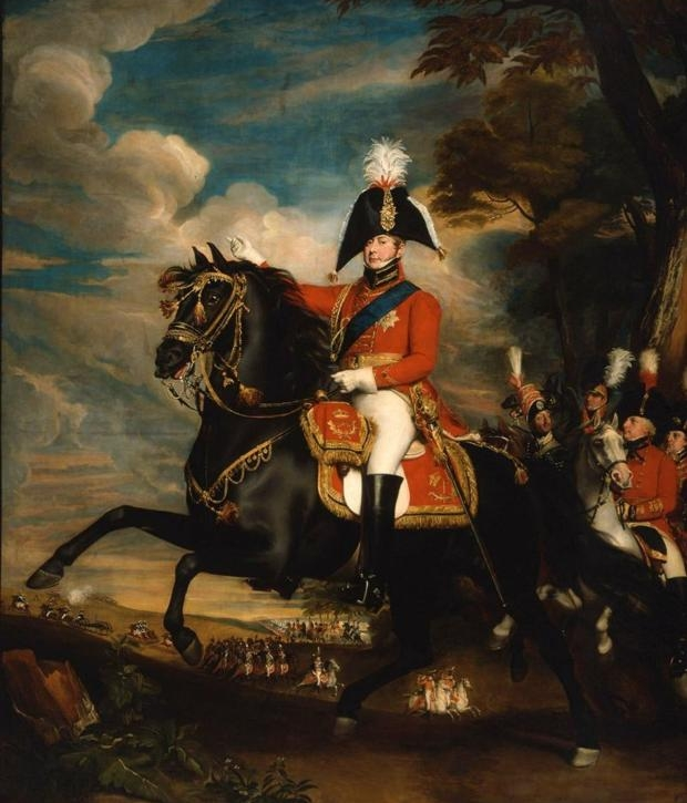 Portrait of H.R.H. the Prince of Wales at a Review (George IV When Prince of Wales),1809, John Singleton Copley