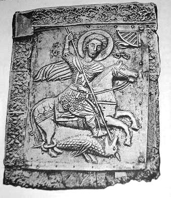 Icon of St. George from Likhauri (Georgia),12th century