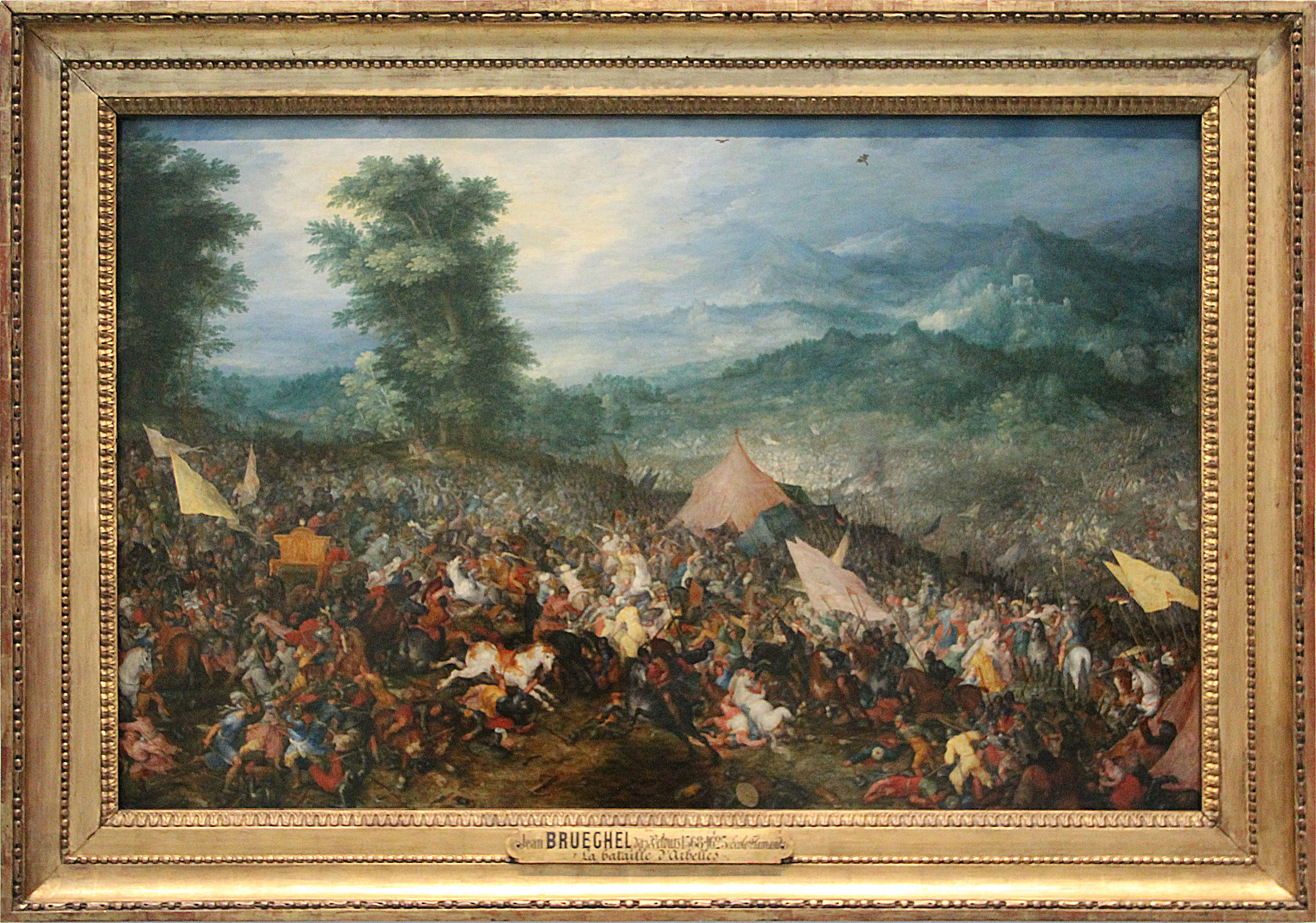 The Battle of Issus or Arbela, 1602, Jan Brueghel the Elder, Flemish school