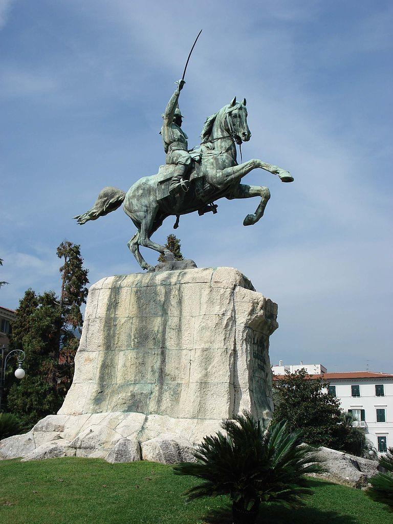 Monument to Giuseppe Garibaldi, 1913, Antonio Garella, La Spezia, Italy