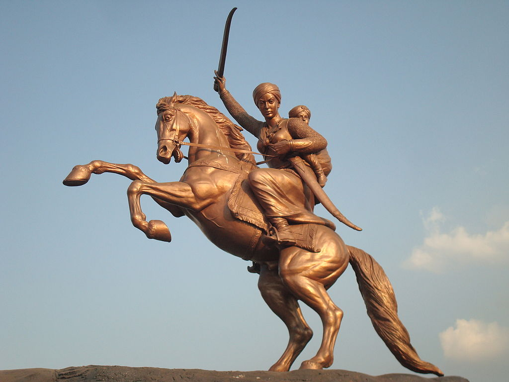 Statue of Rani Lakshmibai, ?, Solapur, India